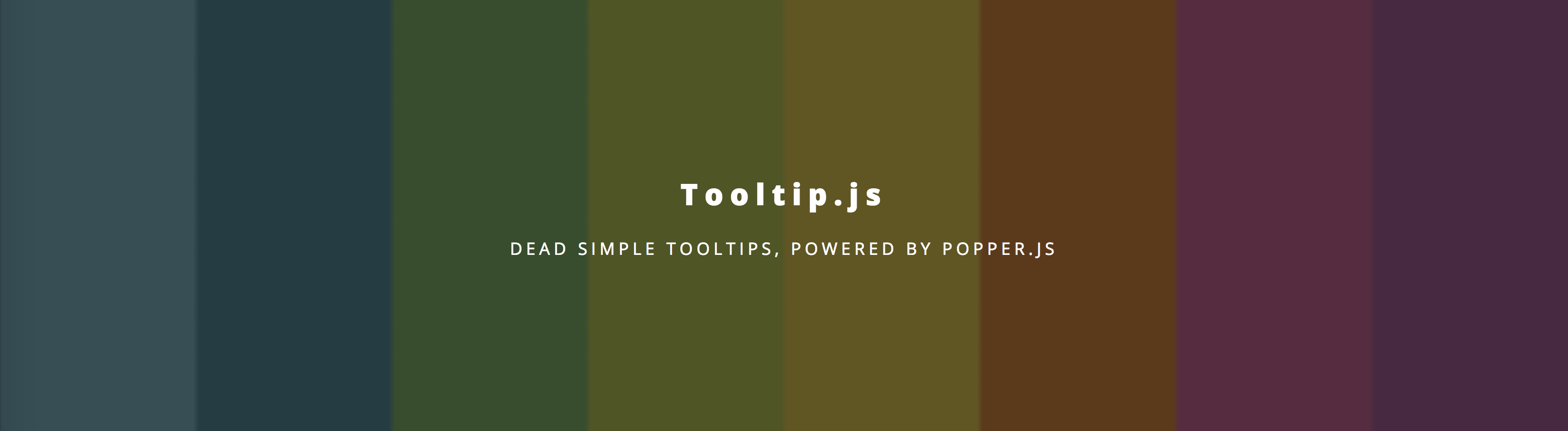 Create beautiful tooltips with Popper js/Tooltip js